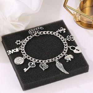 Jewelry - Superb Quality Silver Plated Women Dangle Bracelet